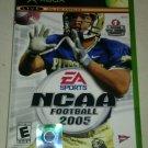 NCAA Football 2005 (Microsoft Xbox Original 2004) W/ Manual Complete CIB Tested