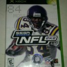 NFL 2K2 Football (Microsoft Xbox Original 2002) with Manual Complete CIB Tested