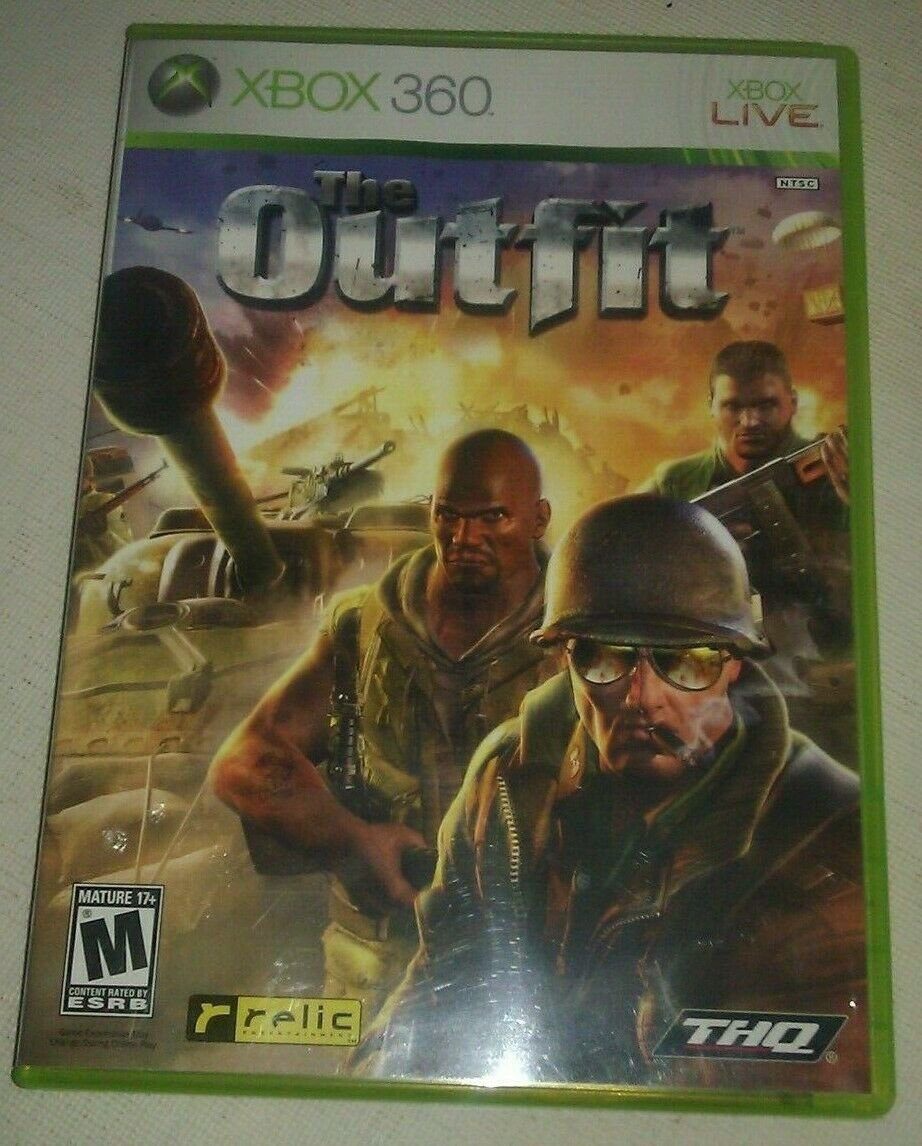 Outfit (Microsoft Xbox 360, 2006) Complete With Manual CIB Tested