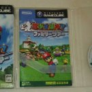 Mario Golf Family Tour (Nintendo GameCube) Japan Import W/ Box & Manual Manual