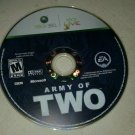 Army of Two (Microsoft Xbox 360, 2008) Disc Only Tested
