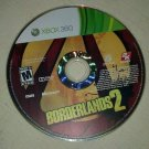 Borderlands 2 (Microsoft Xbox 360, 2012) Disc Only Tested