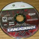 Crackdown (Microsoft Xbox 360, 2007) Disc Only Tested