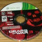 Gears of War 3 (Xbox 360, 2011) Disc Only Tested