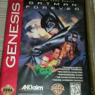 Batman Forever (Sega Genesis, 1995) With Case Tested
