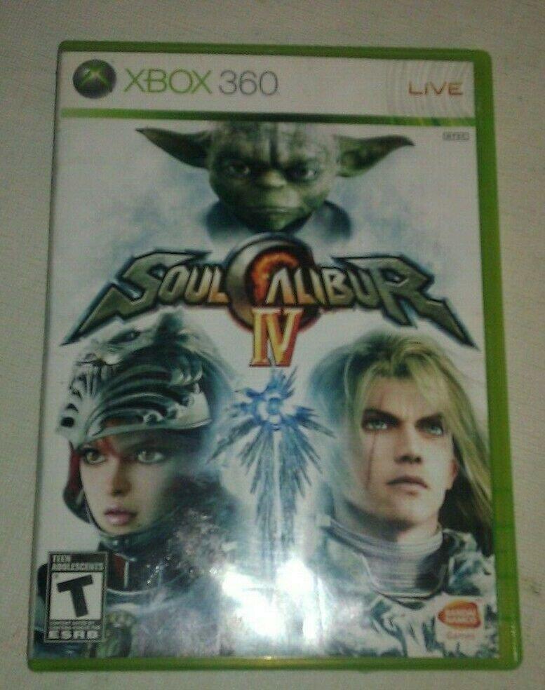 Soul Calibur IV (Microsoft Xbox 360, 2008) Tested Star Wars Yoda