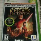 Star Wars: Knights of the Old Republic Platium Hits (Microsoft Xbox, 2003) CIB