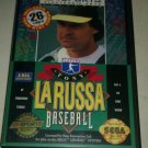 Tony La Russa Baseball (Sega Genesis, 1993) with Case