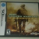 Call of Duty: Modern Warfare - Mobilized (Nintendo DS, 2009) With Manual CIB