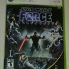 Star Wars: The Force Unleashed (Microsoft Xbox 360, 2008) With Manual CIB Tested