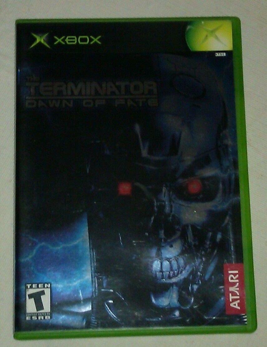 Terminator: Dawn of Fate (Microsoft Xbox Original 2002) With Manual CIB Tested
