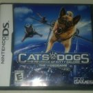 Cats & Dogs The Revenge of Kitty Galore ( Nintendo DS ) Complete W/ Manual CIB