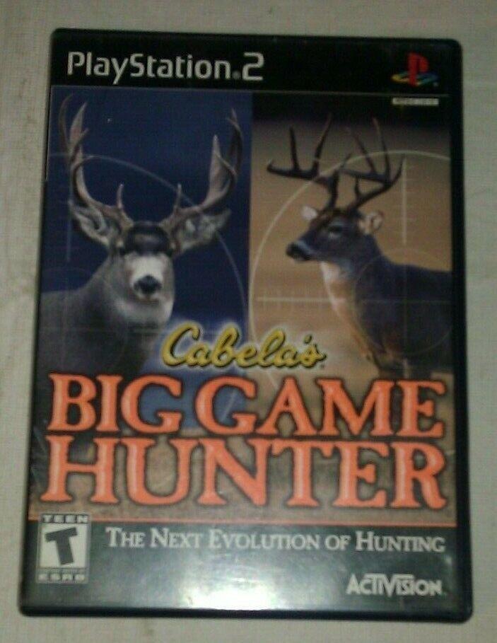 Cabela's Big Game Hunter (Sony PlayStation 2, 2002) PS2