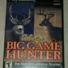 Cabela's Big Game Hunter (Sony PlayStation 2, 2002) PS2