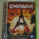 Tom Clancy's EndWar (Microsoft Xbox 360, 2008) Complete CIB Tested