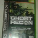 Tom Clancy's Ghost Recon (Microsoft Xbox Original 2005) WIth Manual CIB Tested