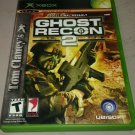 Tom Clancy's Ghost Recon 2 (Microsoft Xbox Classic Original) Complete Tested