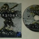 Darksiders (Sony PlayStation 3, 2010) Disc & Manual Only Tested
