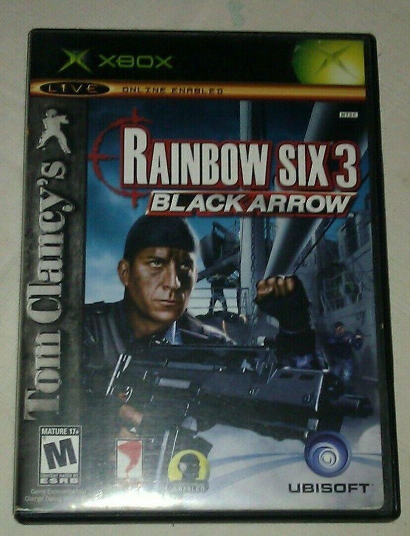 Tom Clancy's Rainbow Six 3 Black Arrow (Microsoft Xbox Original) CIB Tested