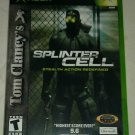 Tom Clancy's Splinter Cell (Microsoft Xbox Original 2002) With Manual CIB Tested