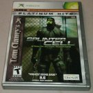 Tom Clancy's Splinter Cell Platinum Hits (Xbox Classic Original) Complete Tested