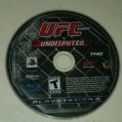UFC Undisputed 2009 (Sony PlayStation 3, 2009) PS3Disc Only Tested