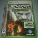 Tom Clancy's Splinter Cell: Double Agent Microsoft Xbox 360 W/Manual CIB Tested