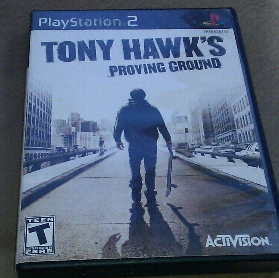 Tony Hawk's Proving Ground (Sony PlayStation 2, 2007) PS2
