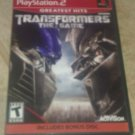 Transformers: The Game Greatest Hits (Sony PlayStation 2 2007) W/ Bonus Disk PS2