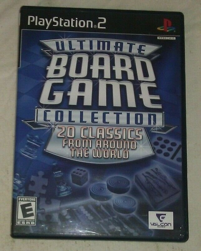 Ultimate Board Game Collection (Sony PlayStation 2, 2006) PS2 CIP CIB