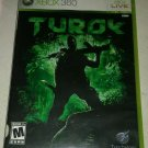 Turok (Microsoft Xbox 360, 2008) Test Complete With Manual CIB