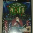 World Championship Poker (Sony PlayStation 2, 2004) PS2 CIP CIB