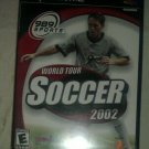 World Tour Soccer 2002 (Sony PlayStation 2, 2002) PS2 CIB Complete