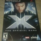 X-Men: The Official Game (Sony PlayStation 2, 2006) Compete With Manual CIB PS2