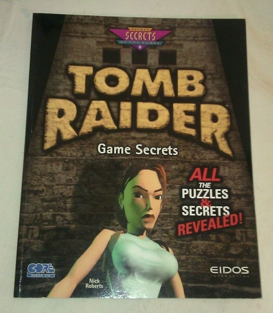 Secrets of the Game: Tomb Raider Game Secrets by PCS Staff (1996, Paperback)