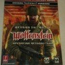 Prima's Offi Strategy Guides Return to Castle Wolfenstein Operation Resurrection