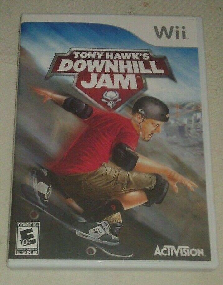 Tony Hawk's Downhill Jam (Nintendo Wii, 2006) Complete With Manual CIB
