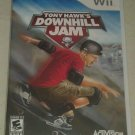 Tony Hawk's Downhill Jam (Nintendo Wii, 2006) Complete With Manual CIB
