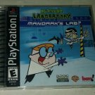 Dexter's Laboratory: Mandark's Lab (Sony PlayStation 1 2002) Complete PS1 Tested