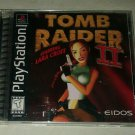 Tomb Raider II Starring Lara Croft (Sony PlayStation 1, 1997)Complete PS1 Tested