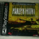 Panzer Front (Sony PlayStation 1, 2001) Complete CIB PS1 Tested Black Label