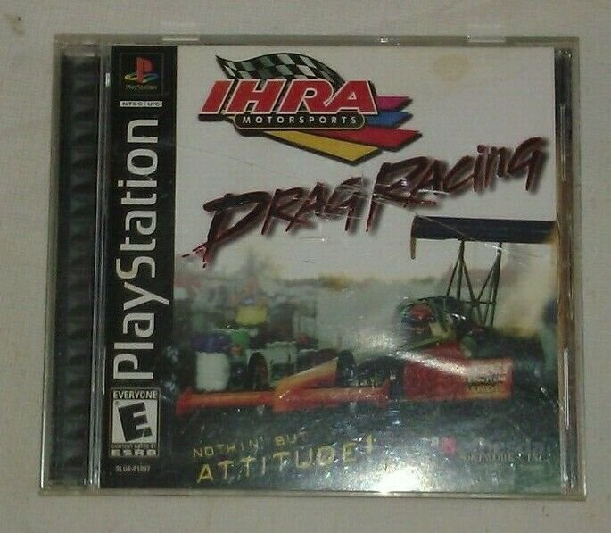 IHRA Motorsports Drag Racing (Sony PlayStation 1, 2001) PS1 Complete CIB