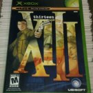 XIII (Microsoft Xbox, 2003) Complete Tested CIB