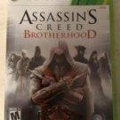Assassin's Creed: Brotherhood (Microsoft Xbox 360, 2010) Complete Tested CIB