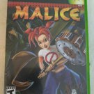Malice (Microsoft Xbox Original, 2004) With Manual Complete Tested