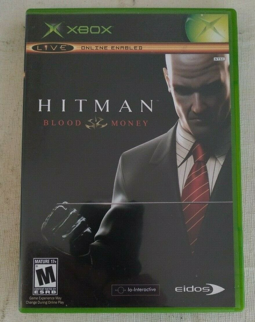 Hitman: Contracts (Microsoft Xbox, 2004) With Manual Complete Tested