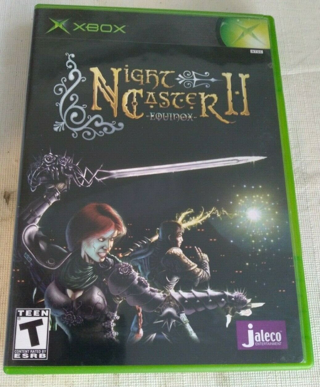 NightCaster II: Equinox (Microsoft Xbox, 2002) With Manual Complete Tested