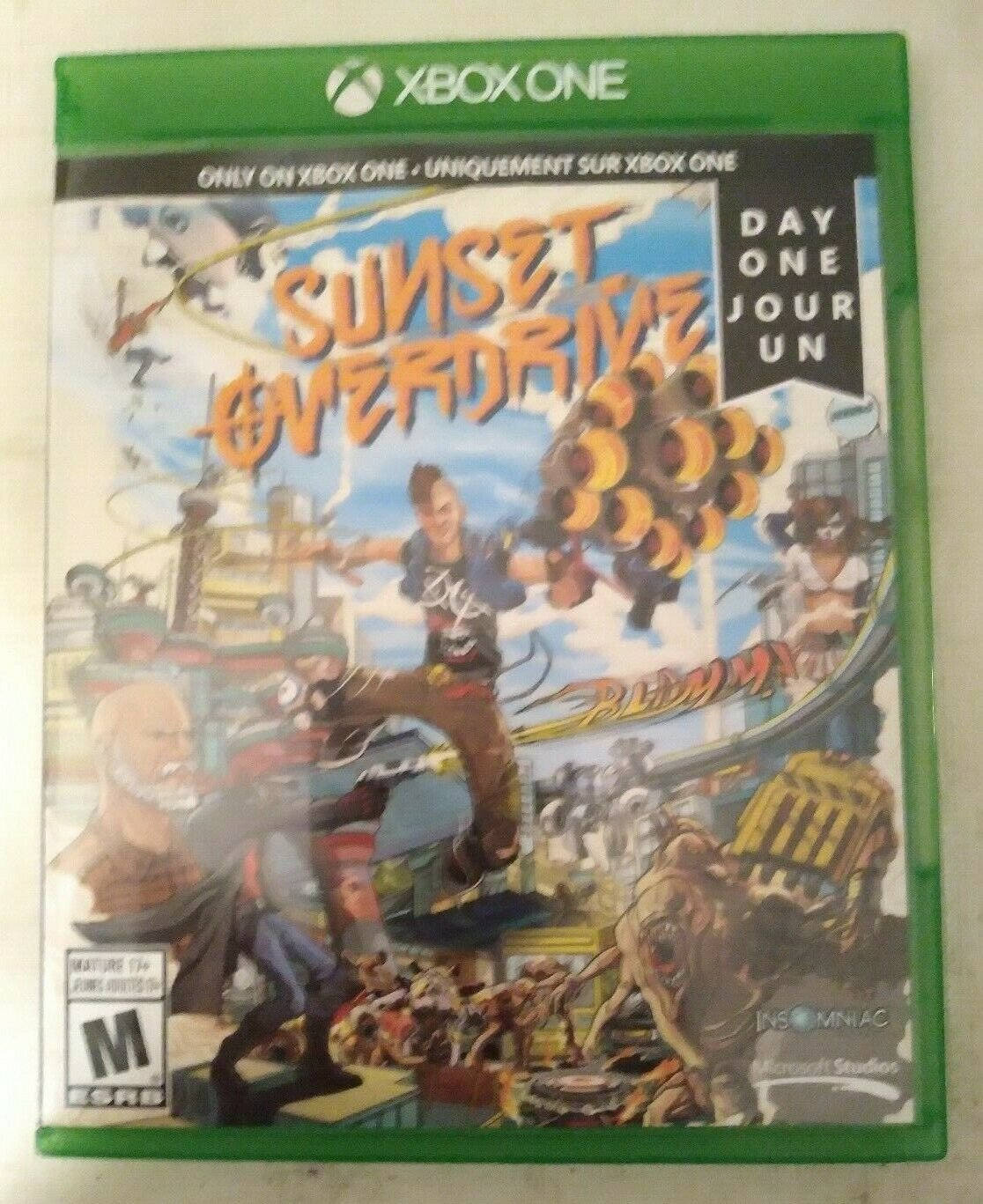 Sunset Overdrive (Microsoft Xbox One, 2014) Tested