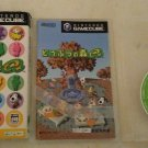 Animal Crossing E+ (Nintendo Gamecube) With Box Case and Manual Japan Import