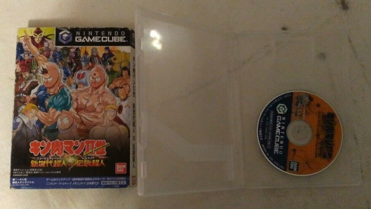 Kinnikuman II New Generation VS Legend Gamecube With Box and Case Japan Import